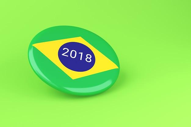 3d pin wahlen 2018. brasilien abstimmung.