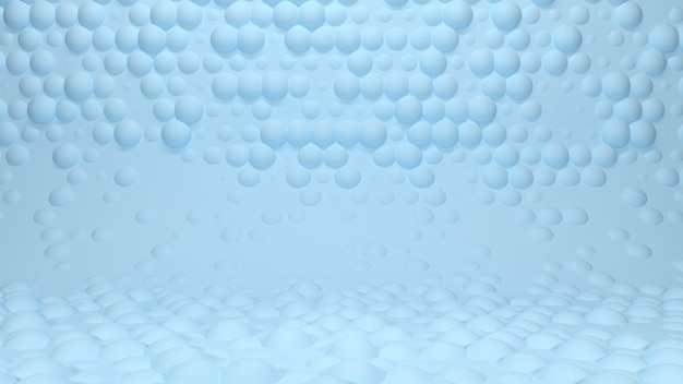 3d-render abstrakter studiohintergrund