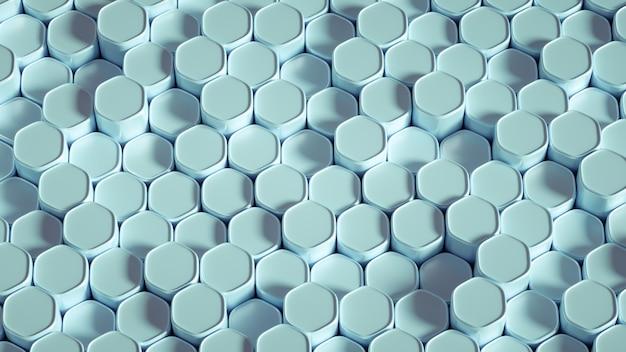 3d-rendering eines realistischen kompositions-minimalismus-renderings