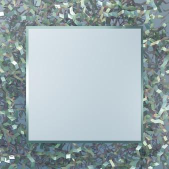 3d rendering festlicher minimal product display platform hintergrund oder message board für beauty