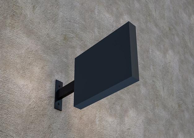 3d-rendering hängen sap light box