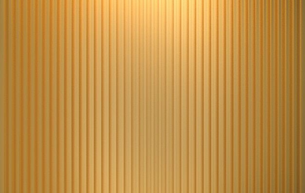 3d-rendering. luxuriöse vertikale gold panel bars muster wand textur.