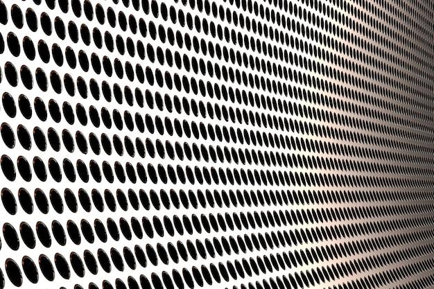 3d-rendering metallbildschirmhintergrund