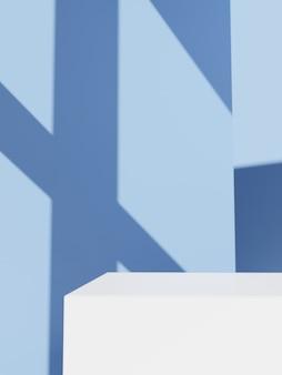 3d-rendering minimal erfrischendes pastellgrün und weiß badezimmer oder küche unter sonnenlicht und schatten