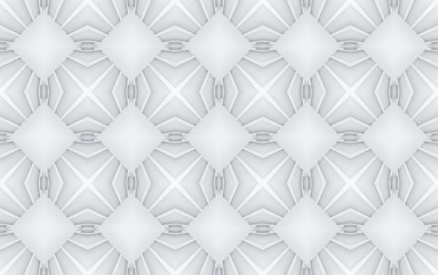 3d-rendering. nahtlose graue moderne quadratische gitter kunst muster keramikfliesen design textur wand hintergrund.