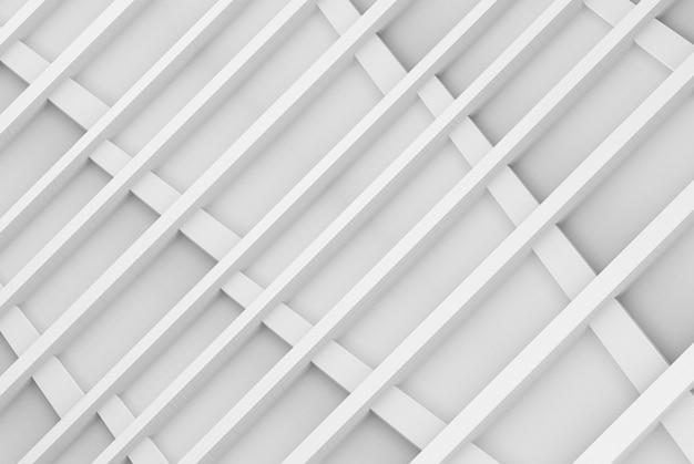 3d-rendering. perspektivische ansicht des modernen hellgrauen rechteckformmuster-holzwanddesignhintergrunds.