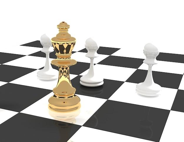 3d-schachführerkonzept