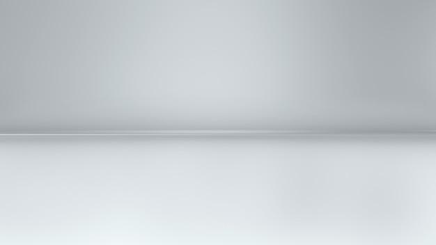 3d schlichter weißer hintergrund für make-up isoliert