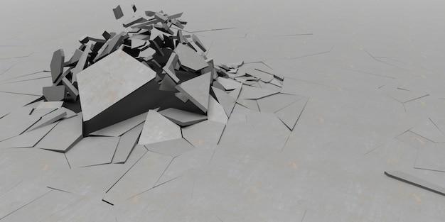 3d splatter-abstrakter tapeten-hintergrund