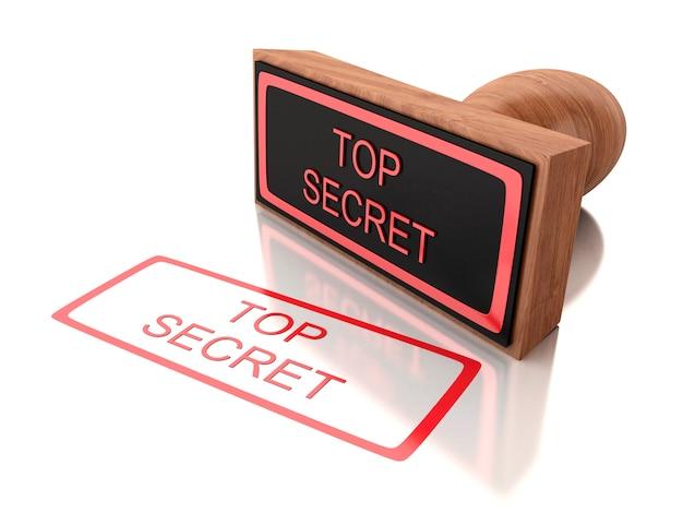 3d-stempel streng geheim