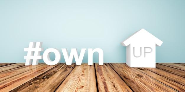 3d t besitzen herauf immobiliengeschäftsinvestition