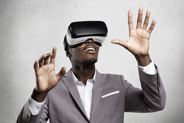 3d-technologie und virtuelle realität.