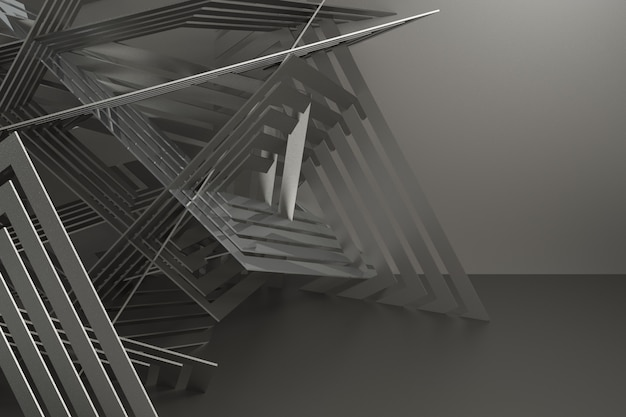 3d übertragen abstrakten hintergrund für auto
