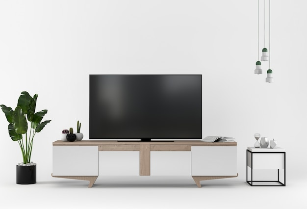 3d übertragen vom studio mit smart-tv