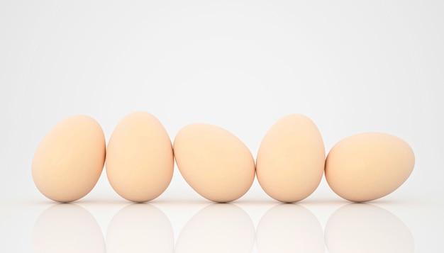 3d übertragen von den hühnereien in der balance