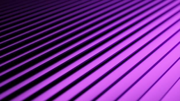 3d wellige oberfläche. abstrakter wellenhintergrund mit neonwellen.