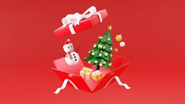 3d-wiedergabe der geschenkbox