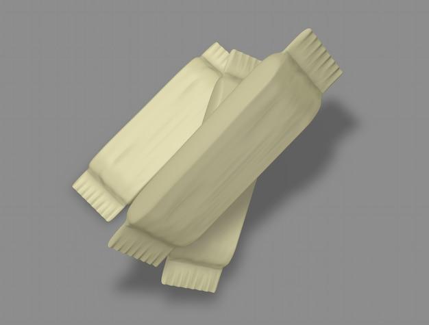 3d wrapper mocup