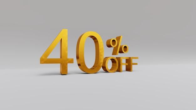 40 prozent rabatt auf 3d-rendering