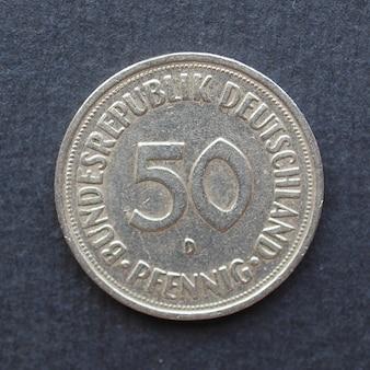 50-pfenning-münze, deutschland