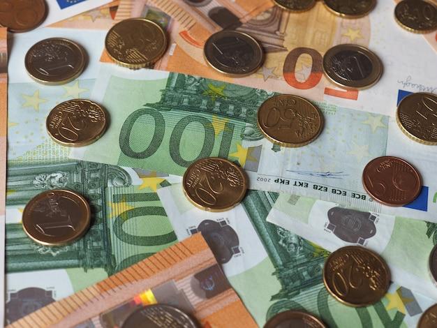 50- und 100-euro-banknoten und -münzen, europäische union