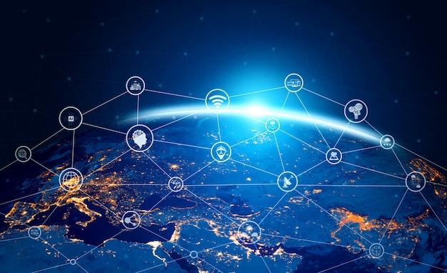5g kommunikationstechnologie des internet-netzwerks