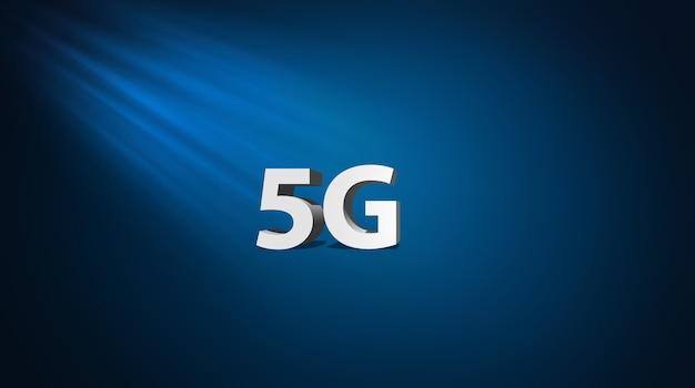 5g-konzept zur entwicklung der geschwindigkeit des drahtlosen netzwerks