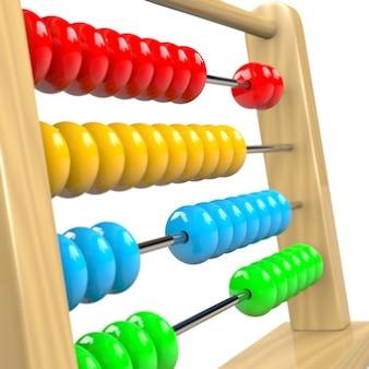 Abacus 3d illustration