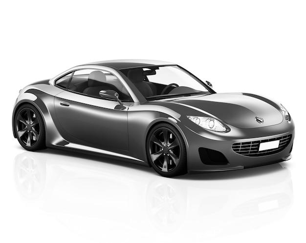 Abbildung eines grauen autos
