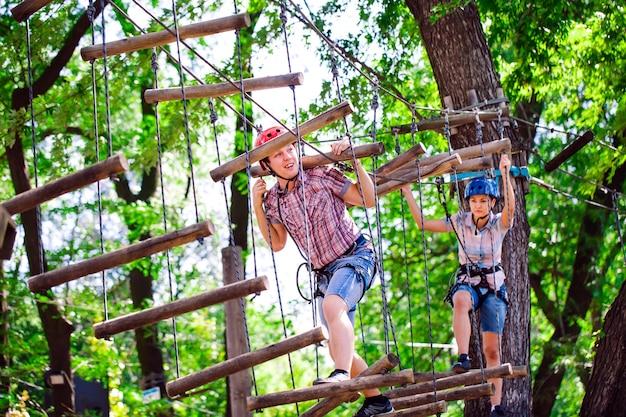 Abenteuer kletterpark