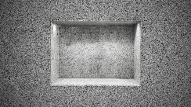 Abstarct grauer stein rahmen und hintergrund