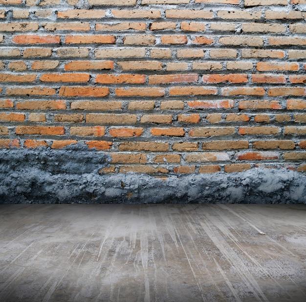 Abstrakt betonierte backsteinmauer hintergrundvorlage