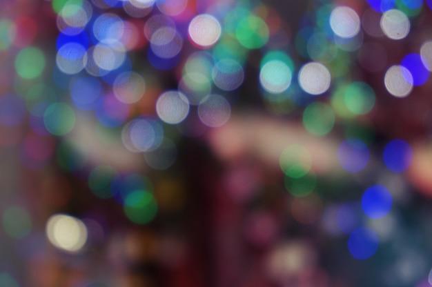 Abstrakt bokeh glitzer vintage lichter. weihnachten bokeh licht defokussiert abstrakten background.can verwendet werden wallpaper textur mit kopie raum bereich für einen text