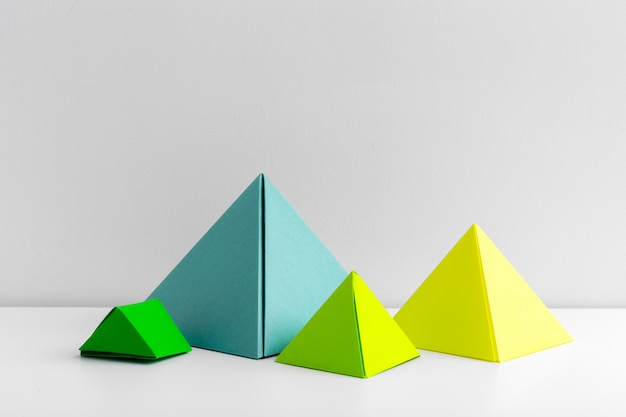 Abstrakt bunt geometrisch