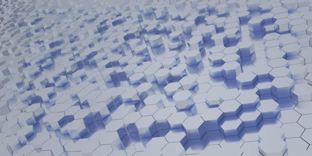 Abstrakt futuristisch - technologie mit polygonalen formen