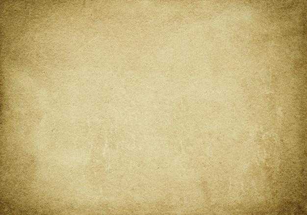 Abstrakt gealterter beiger hintergrund, schmutzpapierbeschaffenheit, raues blatt