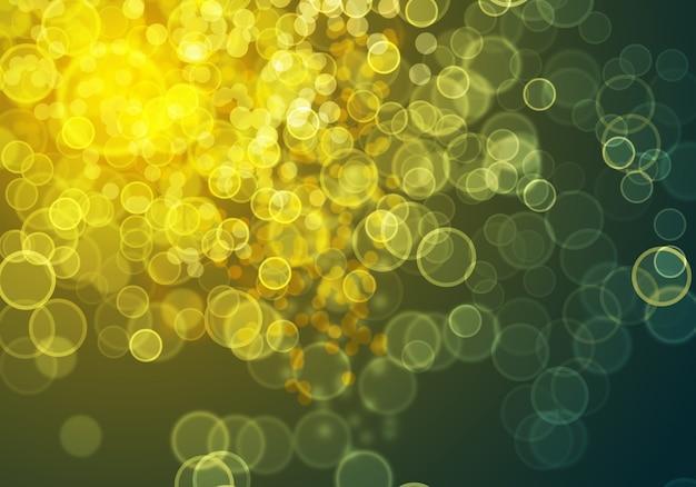 Abstrakt gold bokeh digitalen hintergrund. grafische ressourcen design-vorlage.