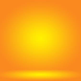 Abstrakt machen sie orange hintergrundplanauslegung glatt
