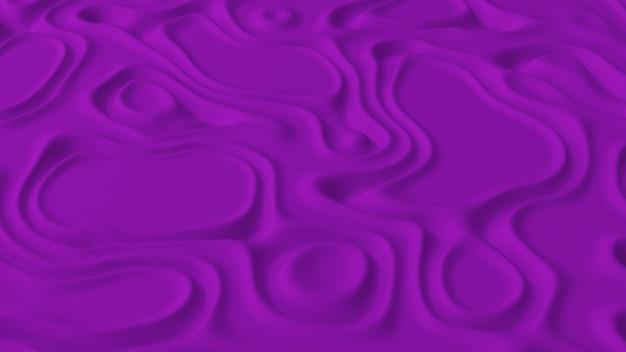 Abstrakt minimalistisch mit lila rauschwellenfeld