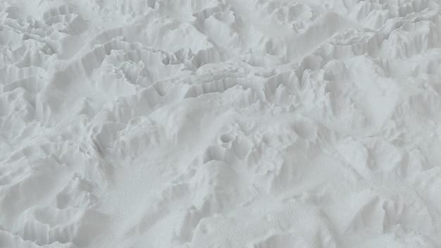 Abstrakt minimalistisch mit weißem rauschwellenfeld