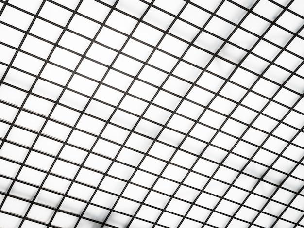 Abstrakte architektur des glasdachäußeren