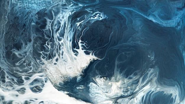Abstrakte blaue grunge aquarell gemusterte hintergrundillustration
