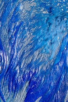 Abstrakte blaue lackbeschaffenheit formt hintergrund