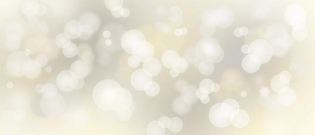 Abstrakte bokeh-lichter mit hintergrundillustration des weichen lichts