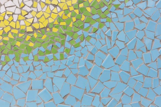 Abstrakte bunte keramikziegelmuster