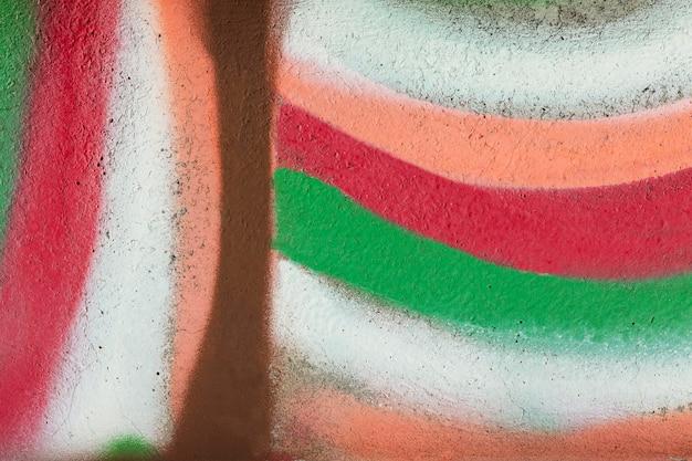 Abstrakte bunte wand graffiti-tapete