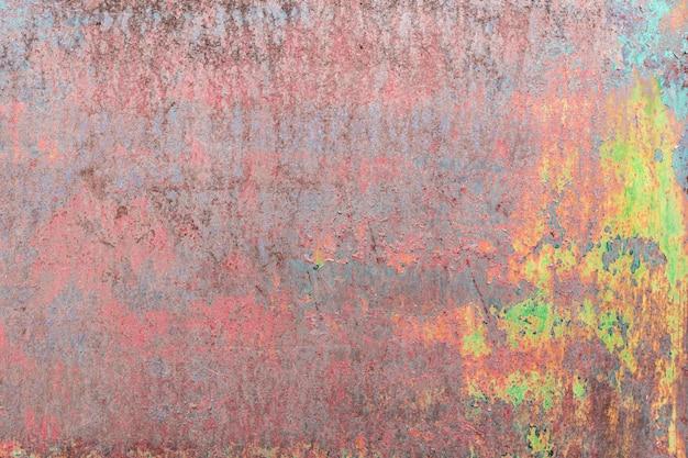 Abstrakte colo rostige metallwandbeschaffenheit