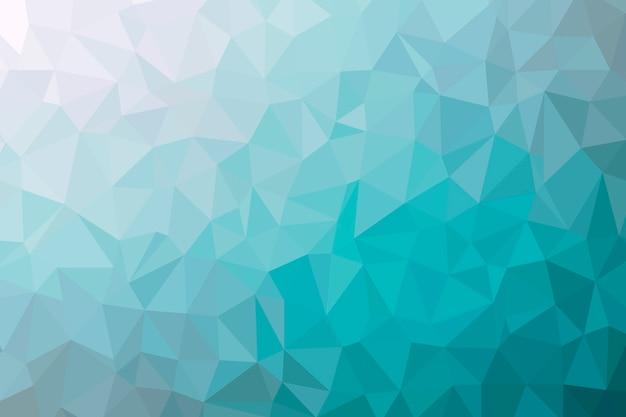Abstrakte cyanarme polyhintergrundbeschaffenheit. kreative polygonale hintergrundillustration