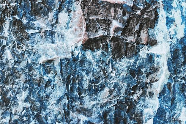 Abstrakte dunkelblaue steinbeschaffenheit