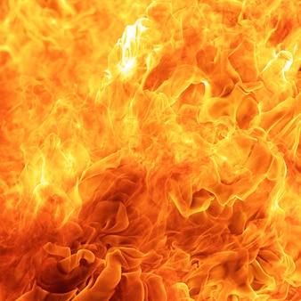 Abstrakte explosion, flamme, feuerelement zur verwendung als texturhintergrund-entwurfskonzept, quadratisches verhältnis, 1x1